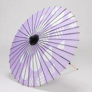 紙傘76cm しずく / 薄紫