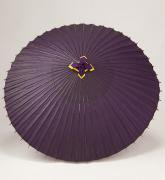 蛇の目傘 105cm 無地 / 紫
