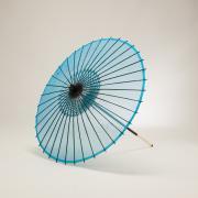 絹傘70cm 無地 / 水色