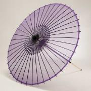 絹傘90cm 無地 / 紫
