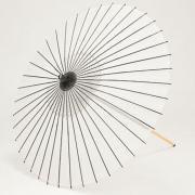 絹傘90cm 無地 / 白
