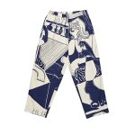 <img class='new_mark_img1' src='//img.shop-pro.jp/img/new/icons5.gif' style='border:none;display:inline;margin:0px;padding:0px;width:auto;' />POLAR SKATE CO SURF PANTS - Ecru/Navy