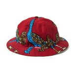 <img class='new_mark_img1' src='//img.shop-pro.jp/img/new/icons5.gif' style='border:none;display:inline;margin:0px;padding:0px;width:auto;' />TBPR AFRICAN HAT - RED