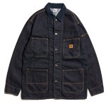 <img class='new_mark_img1' src='//img.shop-pro.jp/img/new/icons20.gif' style='border:none;display:inline;margin:0px;padding:0px;width:auto;' />Hellrazor Platinum Painter Denim Jacket - Indigo