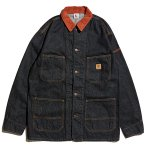 <img class='new_mark_img1' src='//img.shop-pro.jp/img/new/icons20.gif' style='border:none;display:inline;margin:0px;padding:0px;width:auto;' />Hellrazor Platinum Painter Denim Jacket - Black