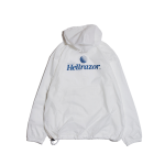 <img class='new_mark_img1' src='https://img.shop-pro.jp/img/new/icons20.gif' style='border:none;display:inline;margin:0px;padding:0px;width:auto;' />Hellrazor Trademark Logo Pullover JKT - White 50%off