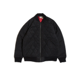 Hellrazor Nylon Quilted MA1 Jacket - Black