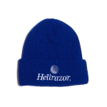 Hellrazor Trademark Logo Watch Cap - Royal Blue