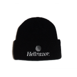 Hellrazor Trademark Logo Watch Cap - Black