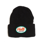 <img class='new_mark_img1' src='//img.shop-pro.jp/img/new/icons5.gif' style='border:none;display:inline;margin:0px;padding:0px;width:auto;' />Hellrazor Mack Patch Knit Cap - Black