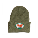 <img class='new_mark_img1' src='//img.shop-pro.jp/img/new/icons5.gif' style='border:none;display:inline;margin:0px;padding:0px;width:auto;' />Hellrazor Mack Patch Knit Cap - Grey