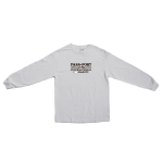 PASS~PORT Inter Solid L/S Tee - White
