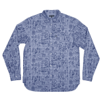 <img class='new_mark_img1' src='https://img.shop-pro.jp/img/new/icons20.gif' style='border:none;display:inline;margin:0px;padding:0px;width:auto;' />PASS~PORT Archive Workers Shirt - Blue