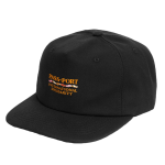 PASS~PORT Inter Solid Cap - Black