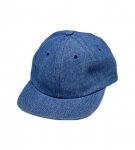<img class='new_mark_img1' src='https://img.shop-pro.jp/img/new/icons20.gif' style='border:none;display:inline;margin:0px;padding:0px;width:auto;' />HOTEL BLUE Arch Logo Embroidered Cap - Blue Denim