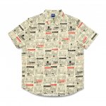 QUARTERSNACKS Vendor SS Button Up - Butter