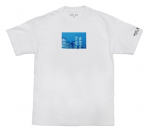 <img class='new_mark_img1' src='https://img.shop-pro.jp/img/new/icons20.gif' style='border:none;display:inline;margin:0px;padding:0px;width:auto;' />HOTEL BLUE WTC Tee - White 20%off