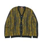 HELLRAZOR Timber Cardigan Sweater - Weed