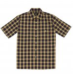 <img class='new_mark_img1' src='https://img.shop-pro.jp/img/new/icons5.gif' style='border:none;display:inline;margin:0px;padding:0px;width:auto;' />WHIMSY Tartan Plaid Shirt - Beige
