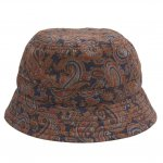 <img class='new_mark_img1' src='https://img.shop-pro.jp/img/new/icons5.gif' style='border:none;display:inline;margin:0px;padding:0px;width:auto;' />WHIMSY Paisley Hat - Navy