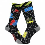 <img class='new_mark_img1' src='https://img.shop-pro.jp/img/new/icons5.gif' style='border:none;display:inline;margin:0px;padding:0px;width:auto;' />WHIMSY Stang Lurk Socks - Black