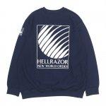 HELLRAZOR Nwo Crew Neck - Navy