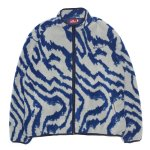 HELLRAZOR Wave Fleece Jacket - Grey