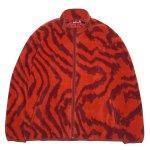 HELLRAZOR Wave Fleece Jacket - Orange