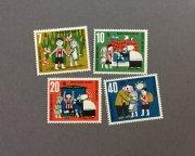 西ドイツの切手 グリム童話<ヘンゼルとグレーテル>