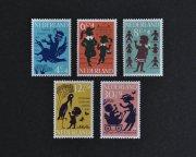 オランダ 児童福祉切手  子供の歌