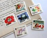 ポーランド切手 アンデルセン童話