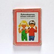 東ドイツ 絵合わせカードゲーム<歯が痛くならないために・B>