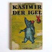 ハリネズミのヴィンテージ絵本<KASIMIR DER IGEL>