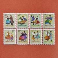 ポーランドの切手<民族衣装>