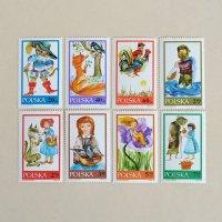 ポーランド切手 グリム童話