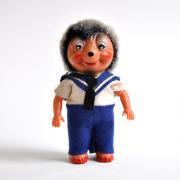 ドイツ ハリネズミの人形 Mecki セルロイド <セーラー>