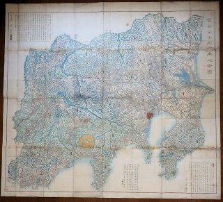 富士見十三州輿地之全図