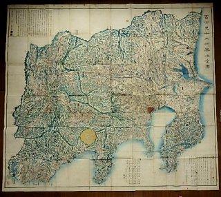 富士見十三州輿地全図