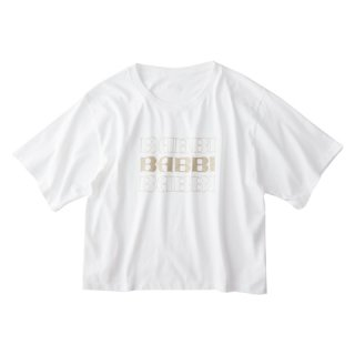 Soffitto×BABBI コラボTシャツ(ロゴ3段)<img class='new_mark_img2' src='//img.shop-pro.jp/img/new/icons5.gif' style='border:none;display:inline;margin:0px;padding:0px;width:auto;' />