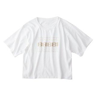 Soffitto×BABBI コラボTシャツ(ロゴ3段)