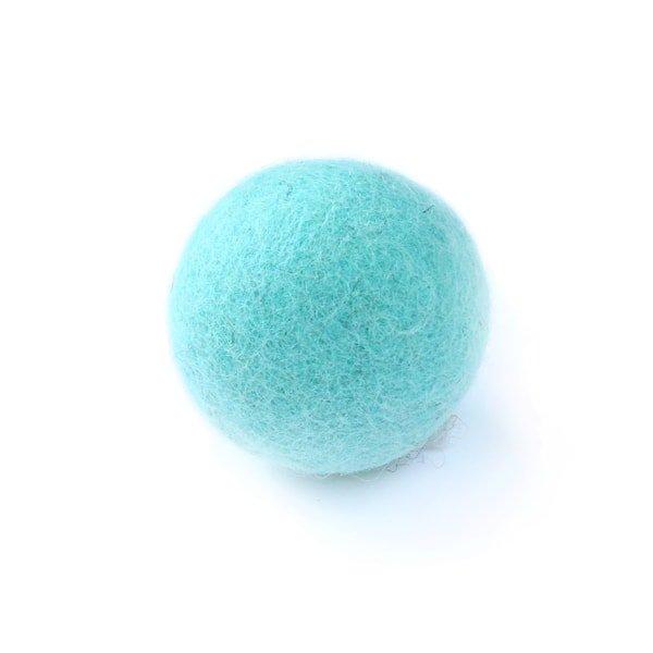 猫おもちゃ[ころころフェルトボール]単品|ソーダ