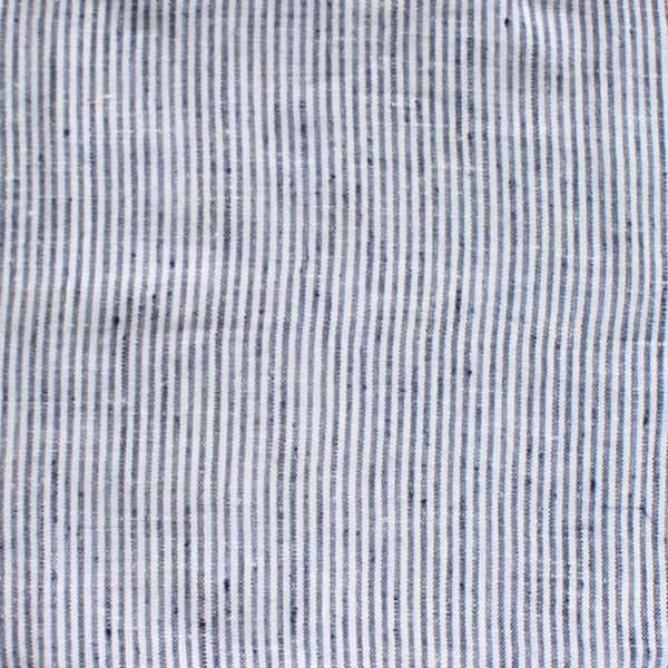猫のフードマット(ランチョンマット)|細身・縦ストライプ/ブルー×ホワイト