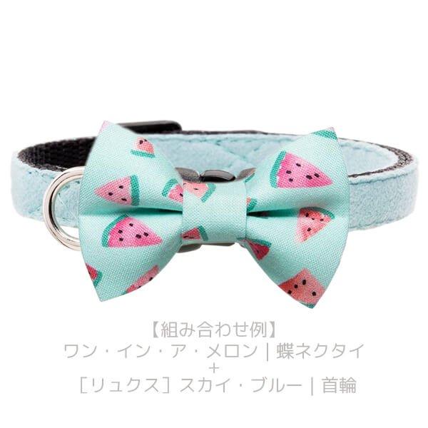 猫の蝶ネクタイ[ワン・イン・ア・メロン]ボウタイ