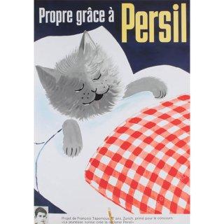 猫ポスター[パーシルできれい]おしゃれなインテリアアート2