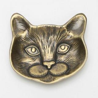 猫の多目的皿・ディスプレイ皿|アルミ削り出し