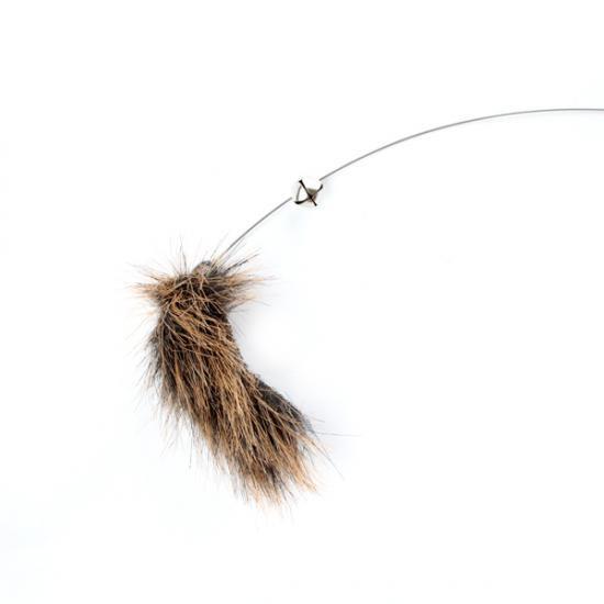 猫じゃらし[ライオンルアー・ミニ]パープル|手作り安全な猫のおもちゃ