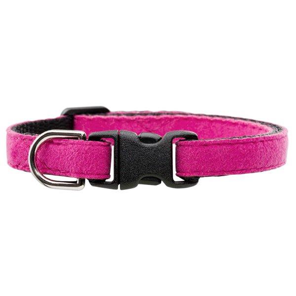 猫の首輪ウルトラスエード[Luxe]ピンク