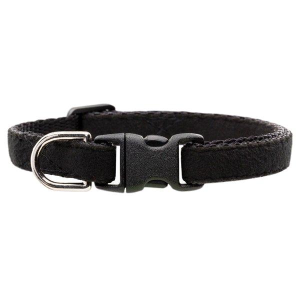 猫の首輪ウルトラスエード[Luxe]ブラック