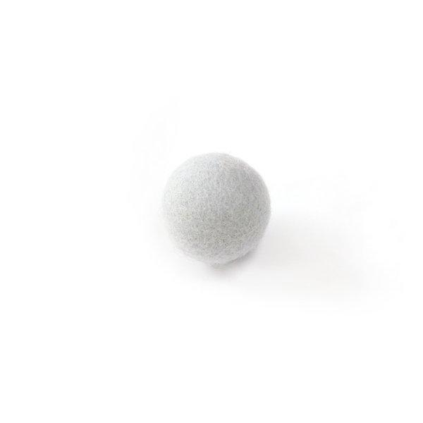 猫おもちゃ[ころころフェルトボール]2ピース|パープルストーン