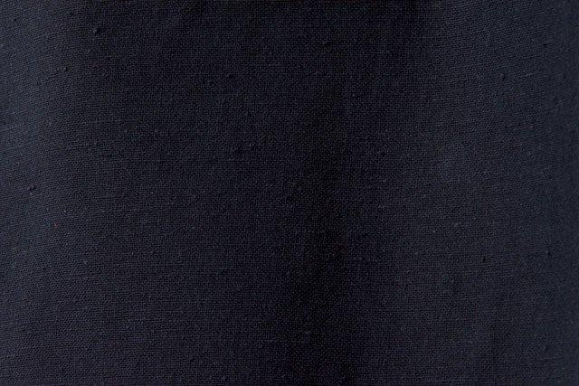 うなぎの寝床 久留米絣もんぺ 無地 厚手【ブラック】  送料無料